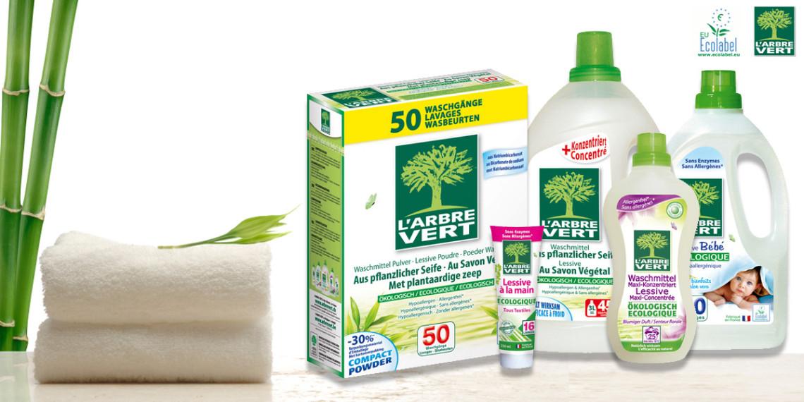 L 39 arbre vert suisse produits d 39 entretien m nagers - Produits d entretien ecologiques ...